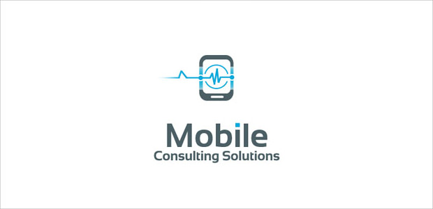 Sample Mobile Consulting business Logo