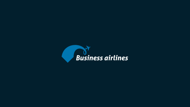 Flat Example Of Airlines Business Logo