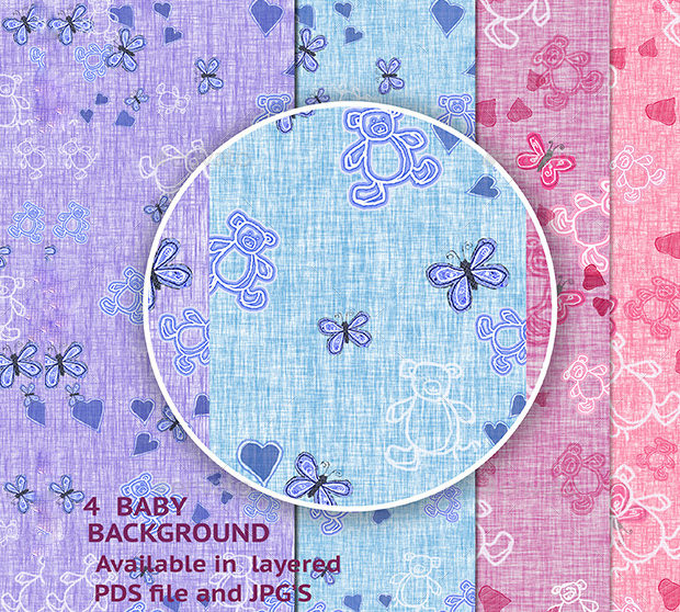 4 Baby Cloth Patterns