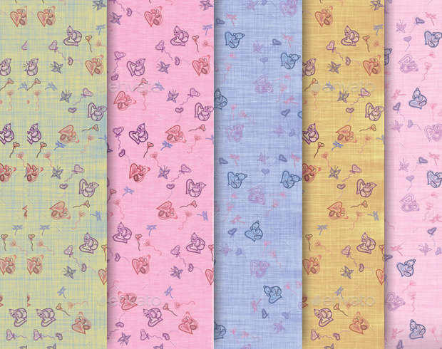 5 Baby Cloth Patterns