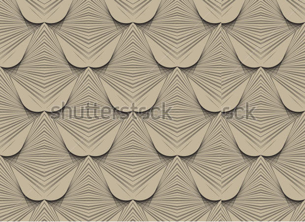 art deco pattern with light background