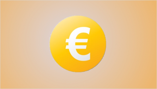 Euro Currency Yellow Coin Icon