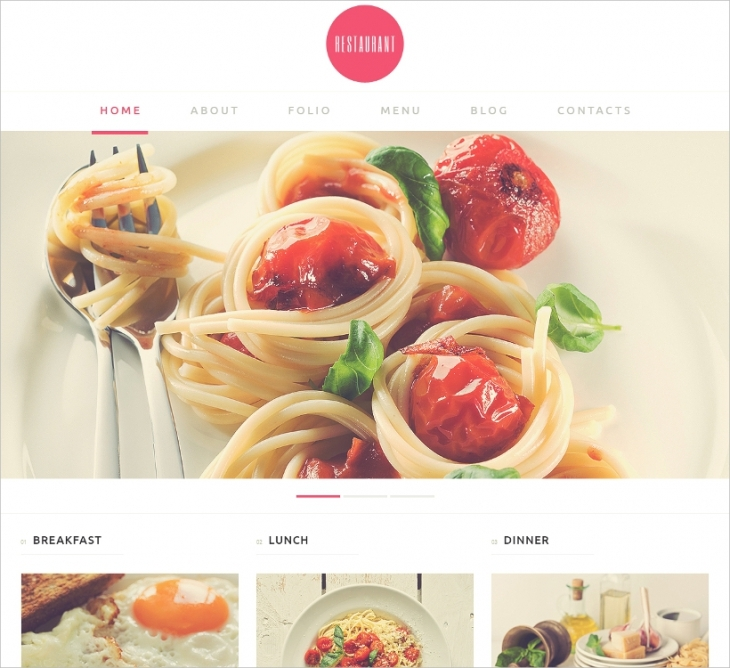 Seafood Restaurant Template
