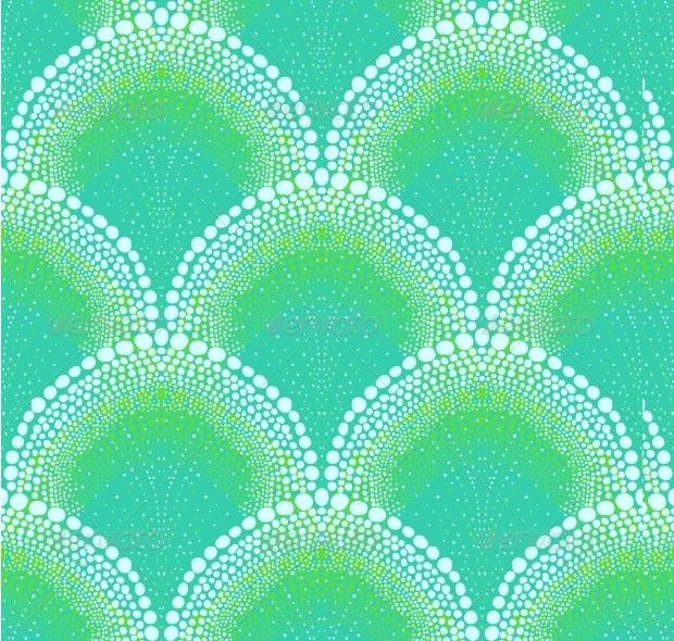 bold style art deco pattern