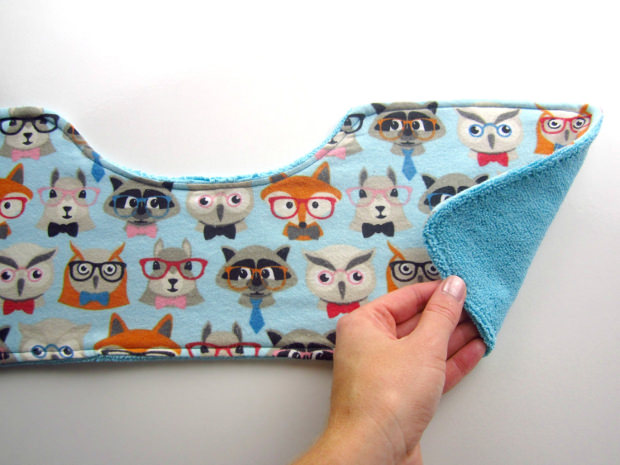 baby burp cloth pattern1
