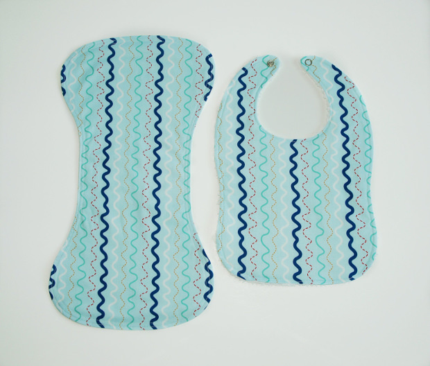 Bib and Burp Cloth Pattern