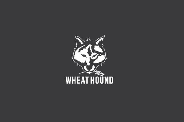 wolf logo design for food and beverages