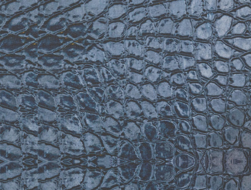 new alligatorblue fabric texture