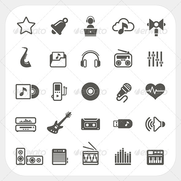 vector eps format icon set