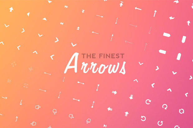 190+ Arrows Icon Set