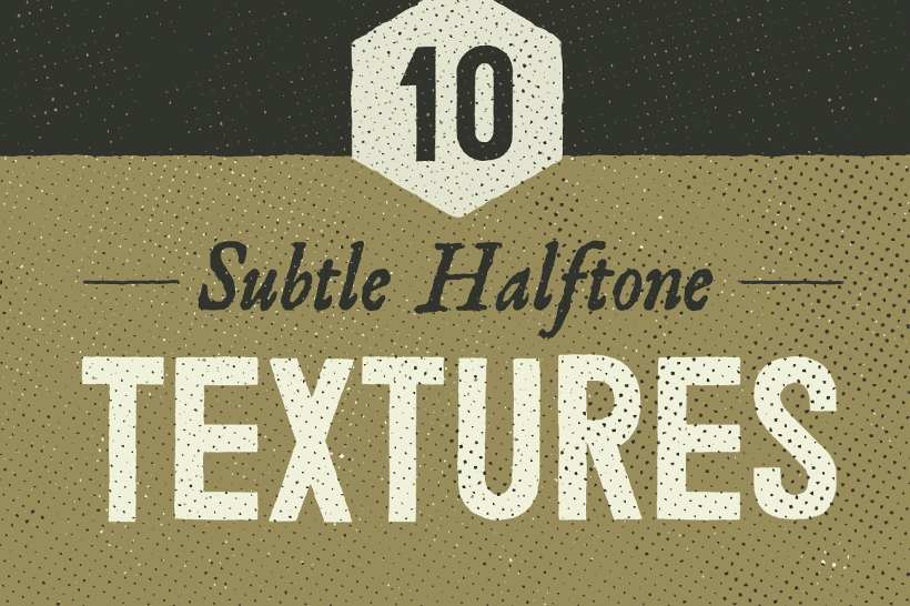 new halftone fabric texture