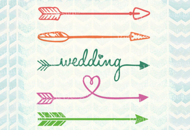 Wedding Arrow Svg