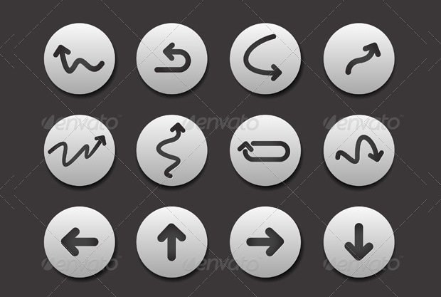 Arrow Icon Vector Pack