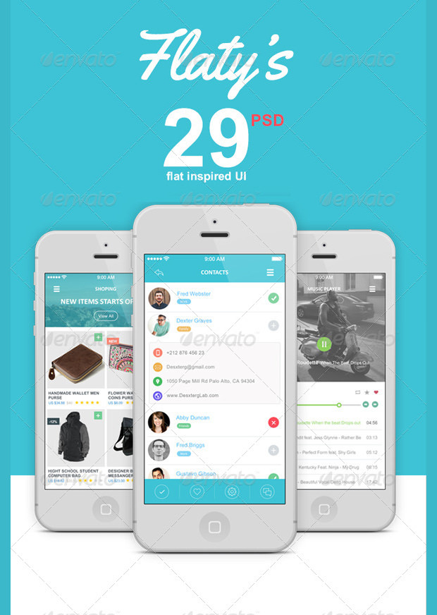 29 Mobile App UI Designs