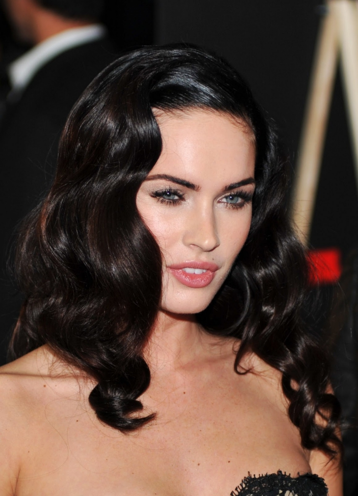 megan fox Vintage Waves