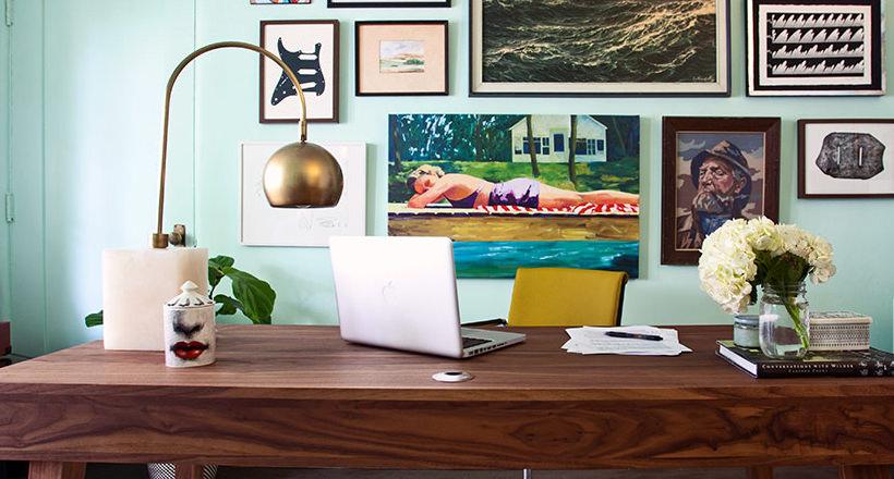20+ Mid Century Modern Home Office Designs, Decorating Ideas ...