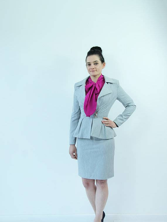 Beautiful Women Skirt Suit