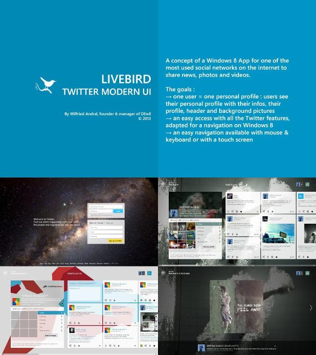 Twitter App UI Design