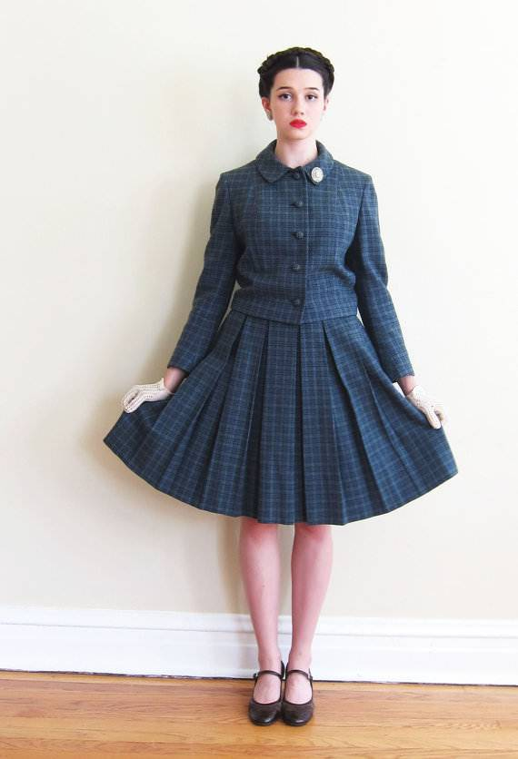 Pleated Skirt Set By Towncliffe