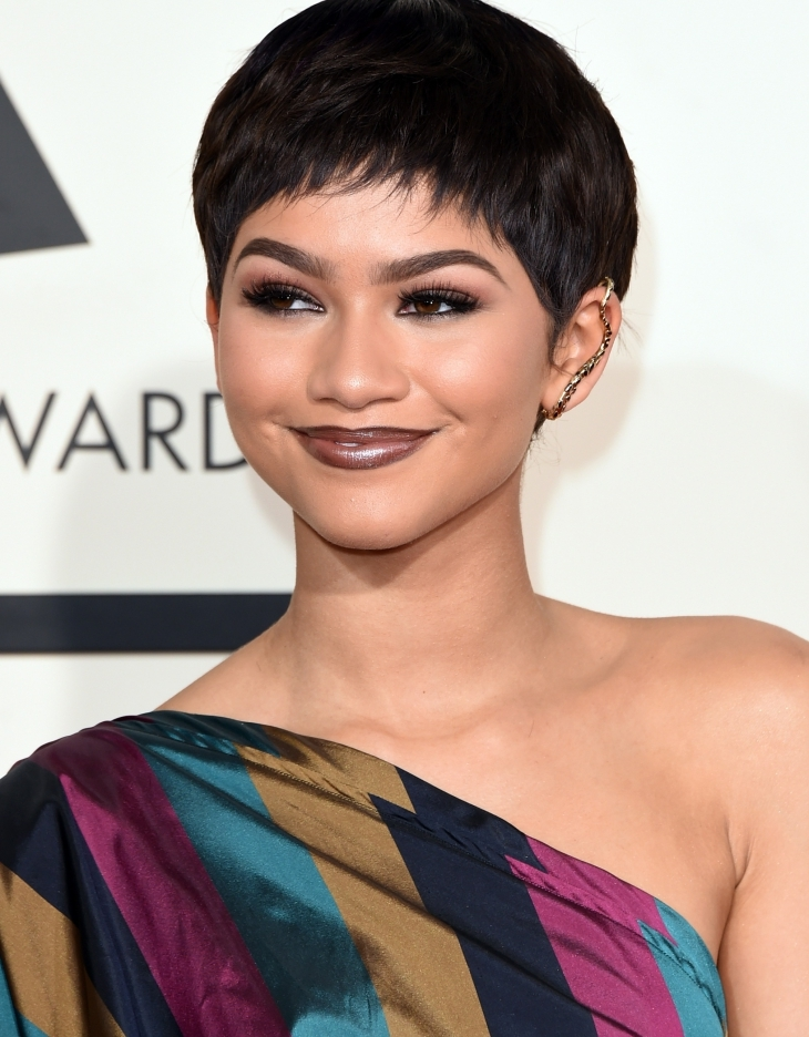 Zendaya Weave Short Hair