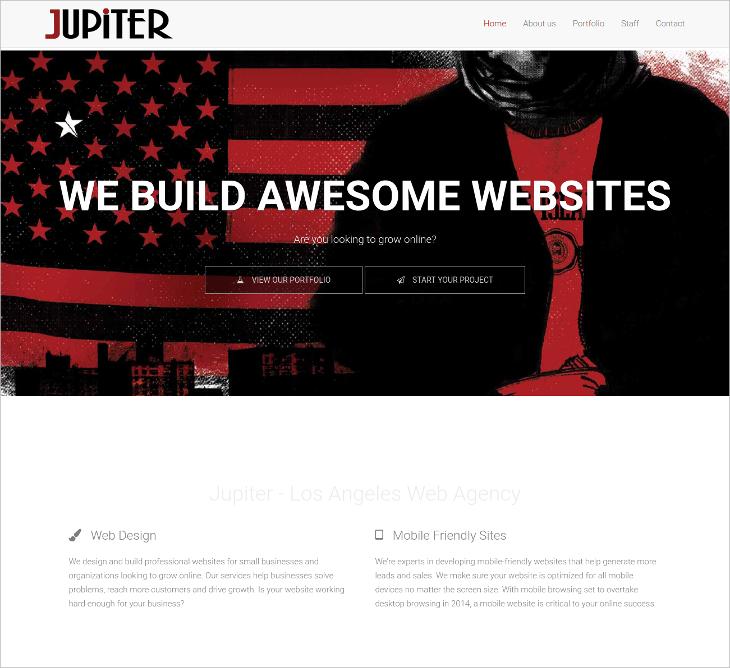 jupiter html5 template