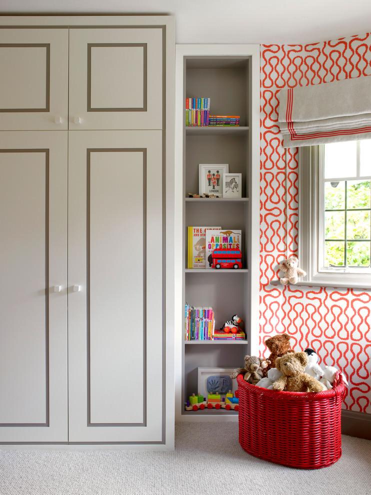 beautiful spacious contemporary kidsroom design