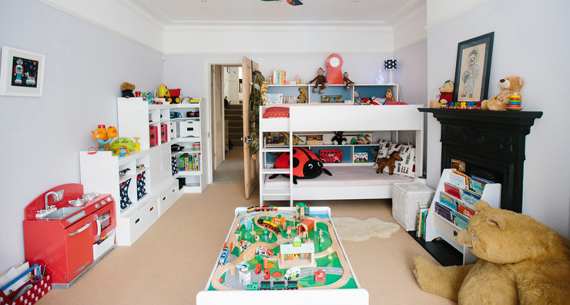 Designs Of Spacious Childrenu0027s Rooms