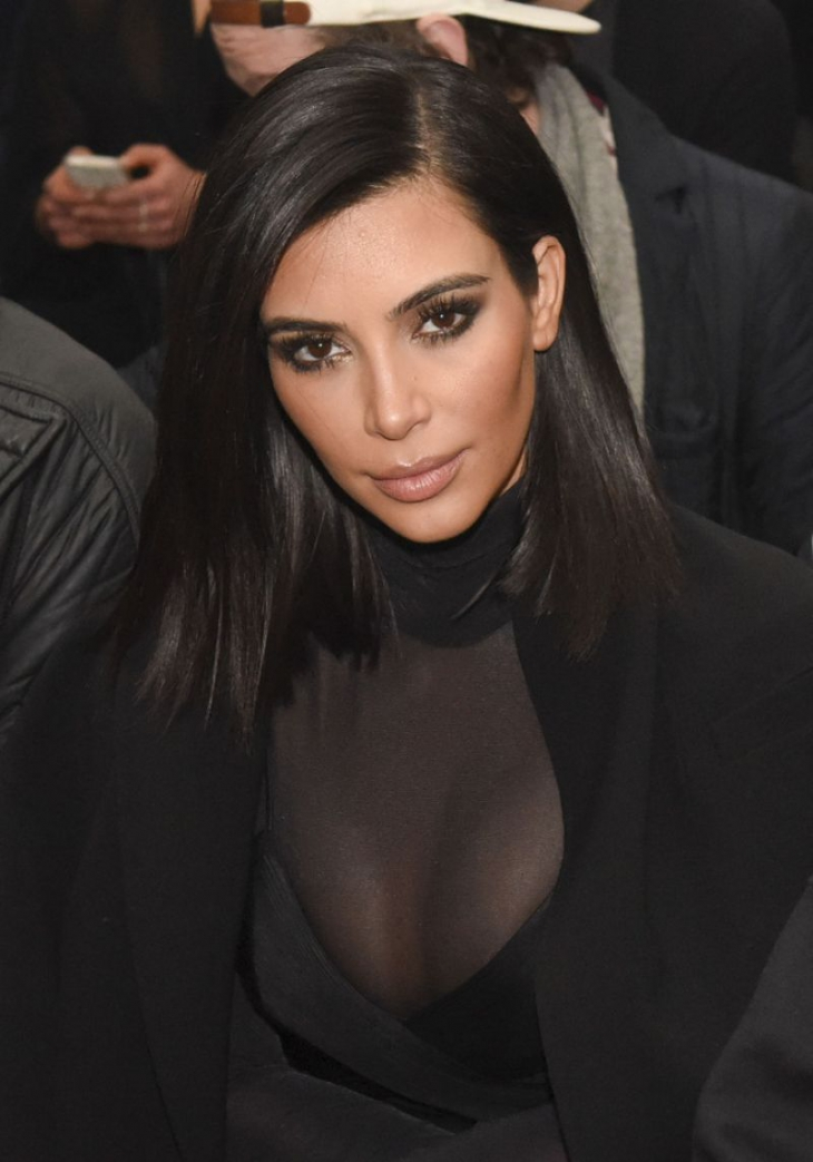 kim kardashian short hair
