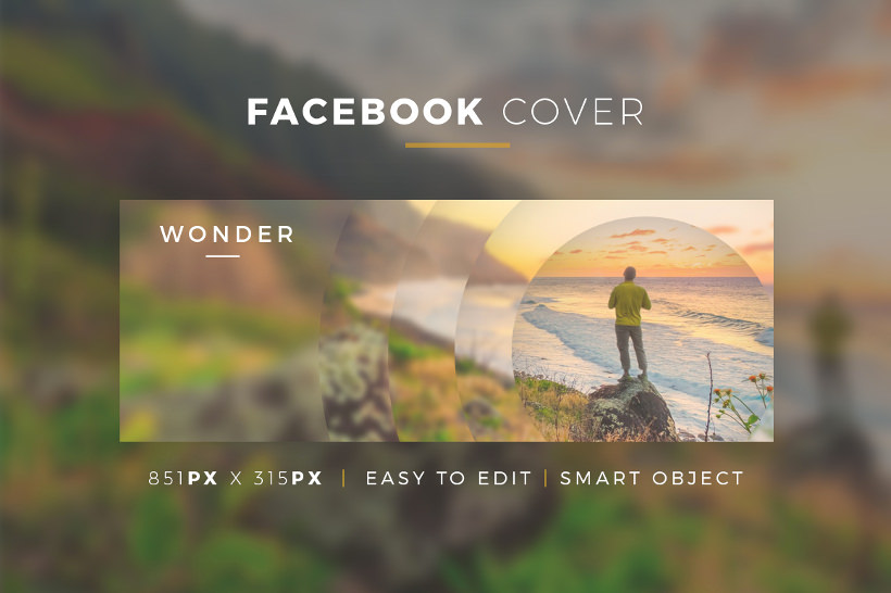 Creative PSD Template - Facebook Cover
