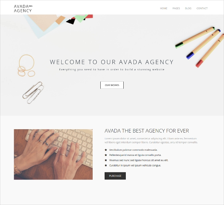 Agency Responsive HTML5 Template