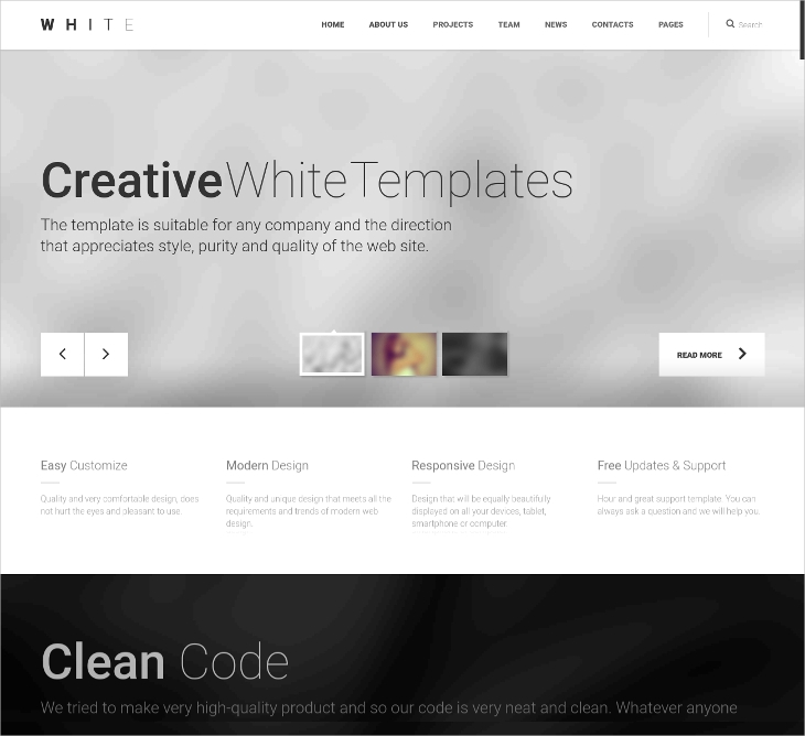 Creative Multipurpose HTML5 Template