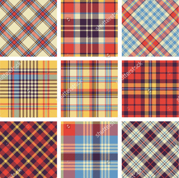 Colorful Plaid Patterns