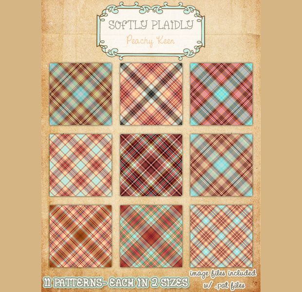 Soft And Nice Plaid Pattern