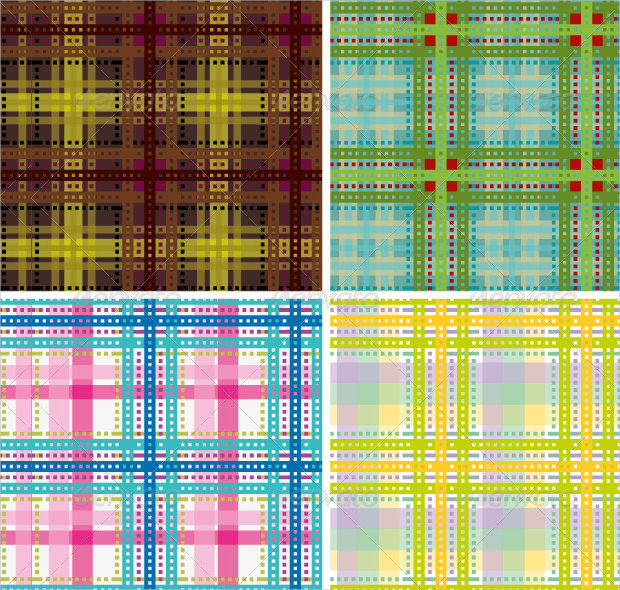 Beautiful Tartan Plaid Pattern