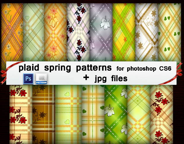 Spring Type Plaid Patterns
