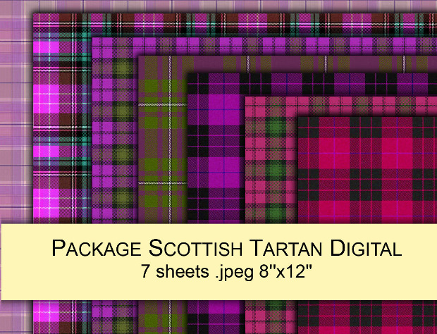 Colorful Tartan Plaid patterns