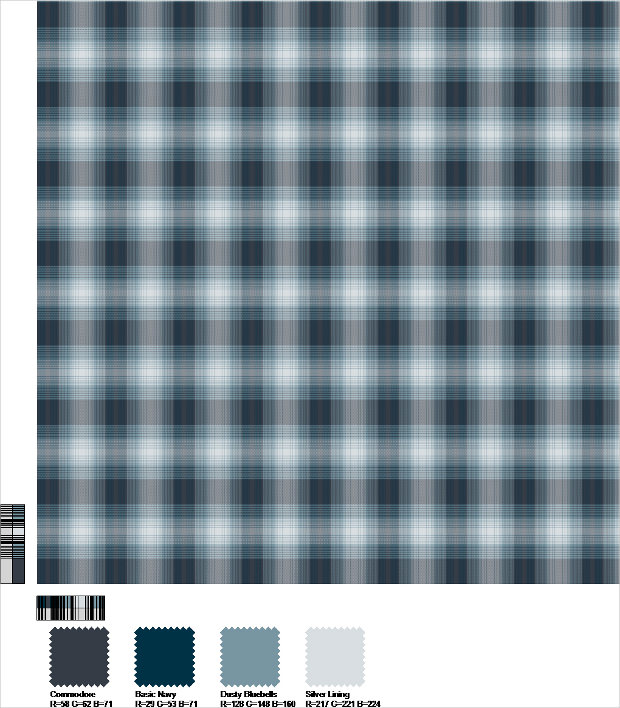 Different Colors Plaid Patterns