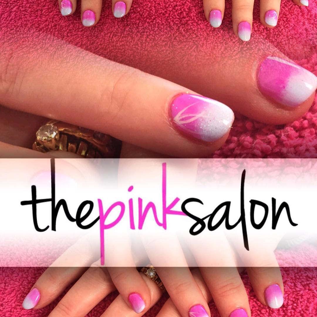 Set Pink Nail Designs