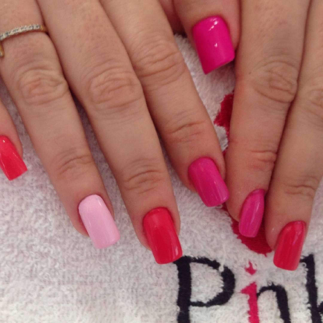 Pink Shades of Nail Designs