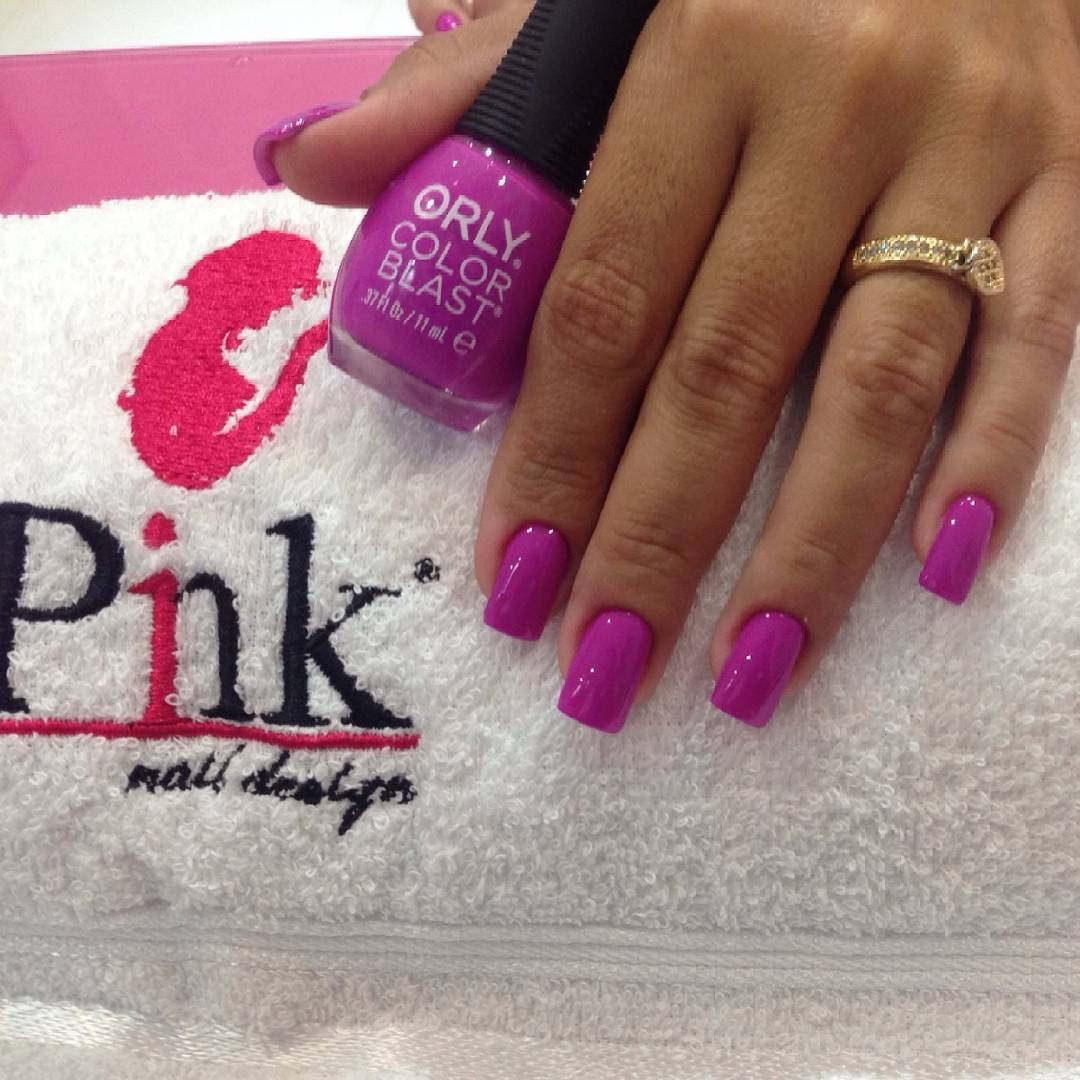 Cute Pink Nail Polish