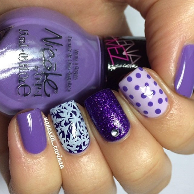 Lavendars and Purple Design