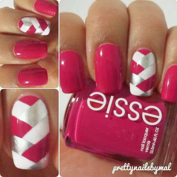 Pretty Nail Pink Design