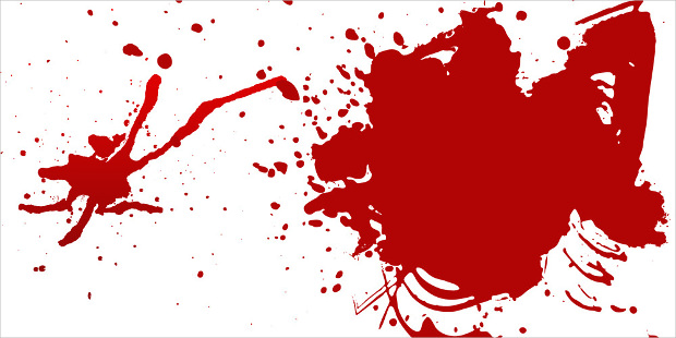 blood splatters collection