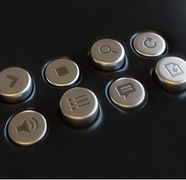 PhotoRealistic Collection of Video Buttons