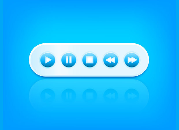 Eye Catching Collection of Video Buttons