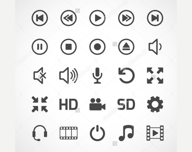 Cool Collection of Video Buttons