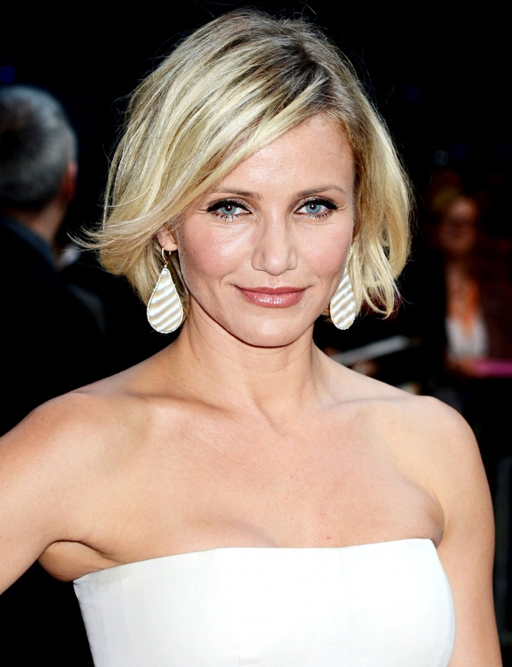 cameron diaz choppy bob