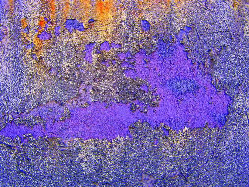 Cool Violet Rusty Texture