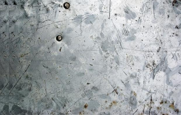 plain aluminium rusty texture