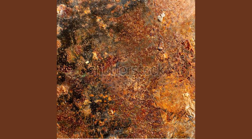 Spatula Metal Rusty Texture